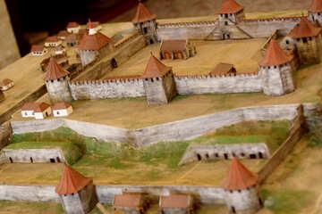 Castle model №28414