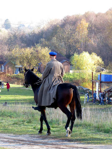 Actor on horse №28519