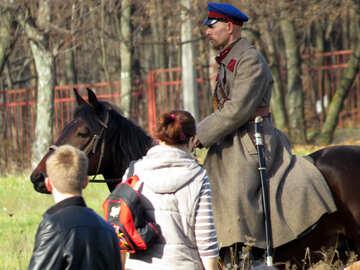 Actor horse №28806