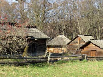 Case in legno del villaggio №28612