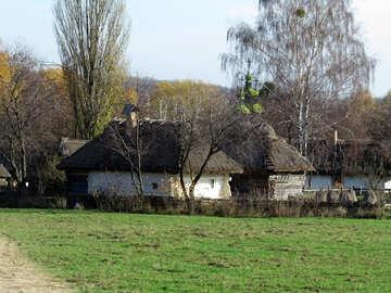 Rural autumn landscape №28950