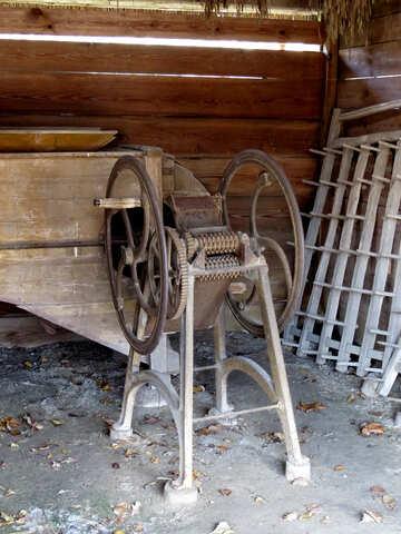 Vintage Verarbeitung Maschine Produkte №28885