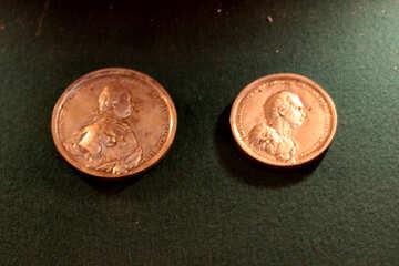 Древняя монета №28409