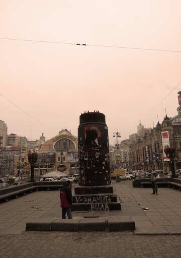 Lenin monument in Kiev №28043
