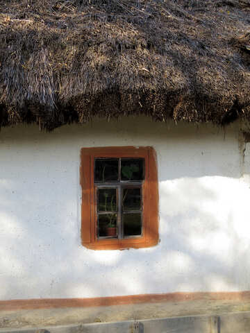 Old rural house with window №28716