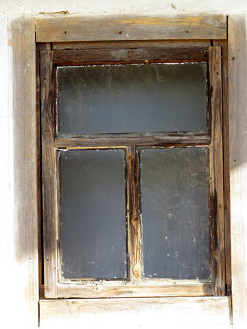 Old wooden window №28752