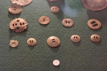 Botones vintage №28454