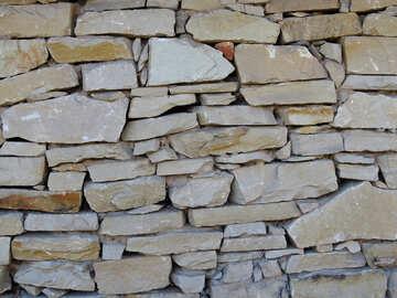 Texture of stone masonry №28551