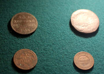 Old Russian coins №28442