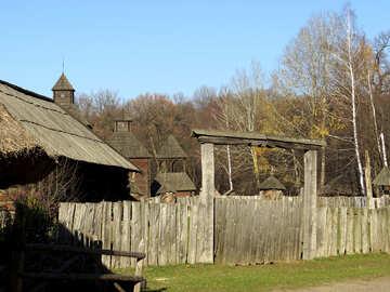 Арка над воротами №28635