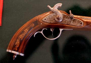 Старинный пистолет №28410
