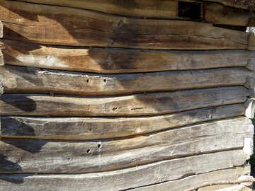 Struttura di parete di alberi storti №28726