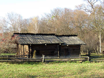 Old wooden house №28613