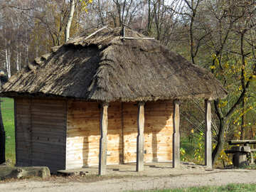 Wooden shed №28835