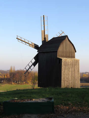 Wooden windmill №28478