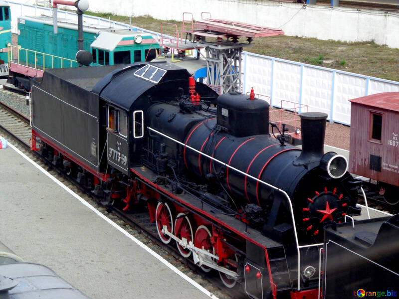 Old locomotive №28971