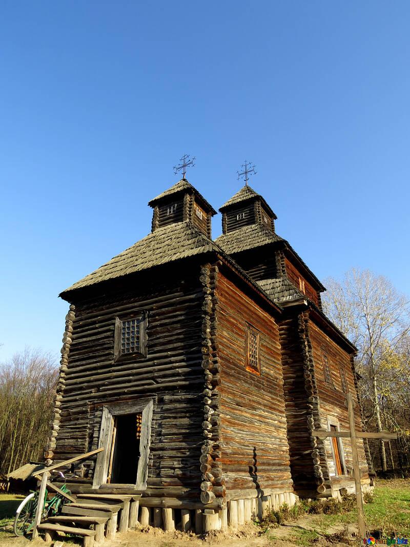 Деревянная церковь №28615