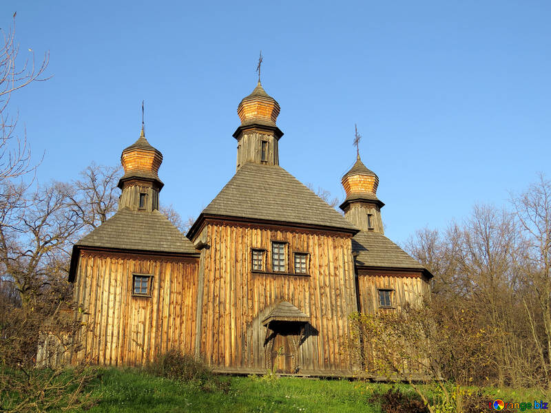 Wooden temple №28495