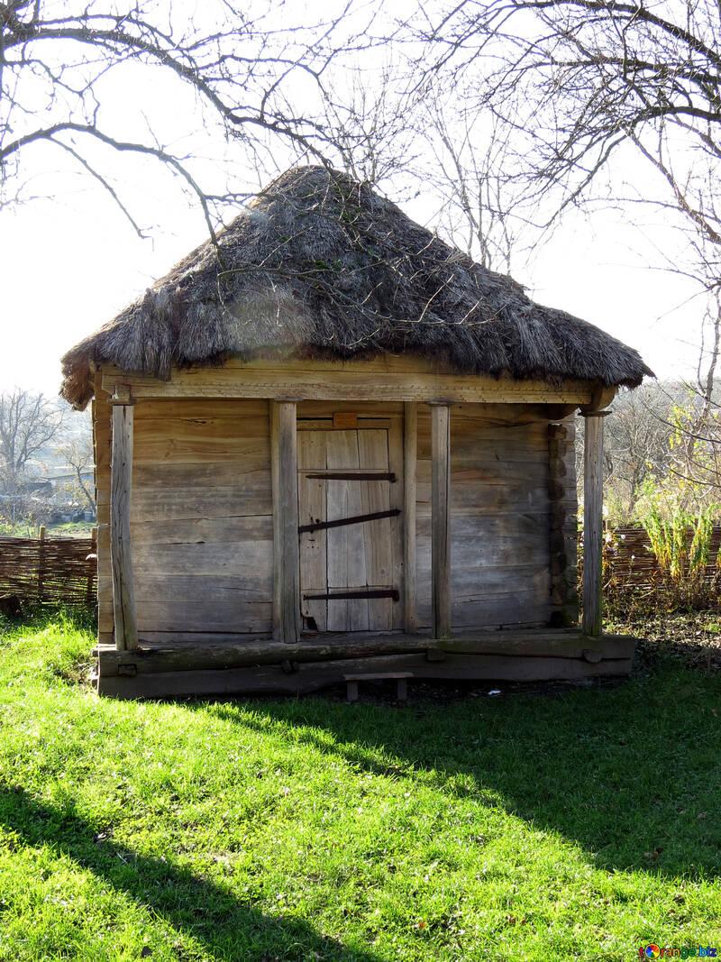 Barn in the village №28662