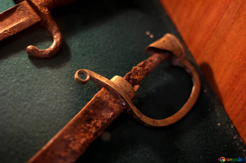 Rusty sword №28419