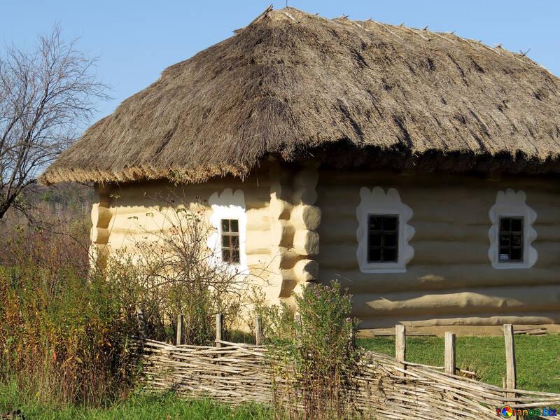 Старый дом сруб №28638