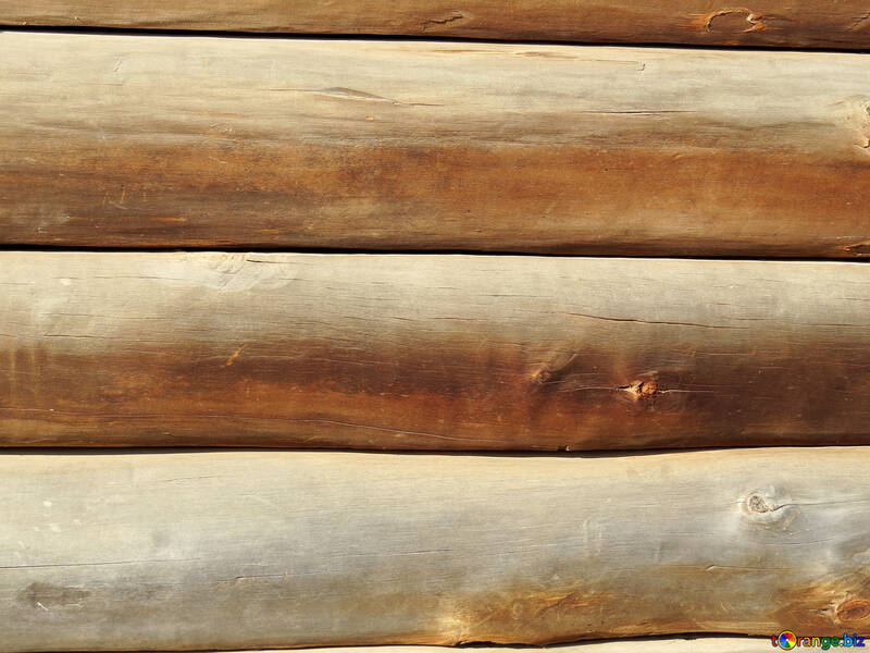 Texture wall of logs №28937