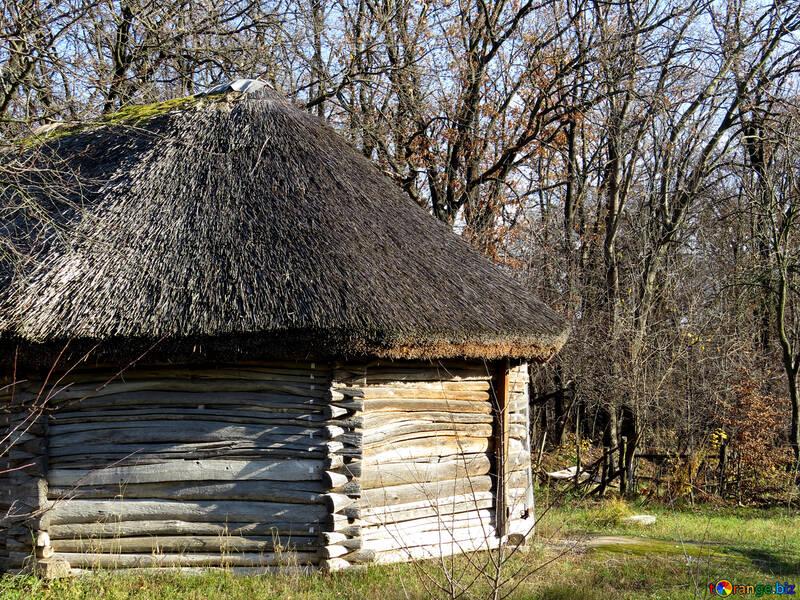 Деревянный круглый дом №28667
