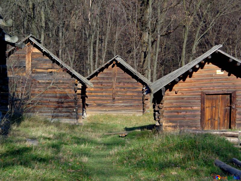 Старинные деревянные дома №28242