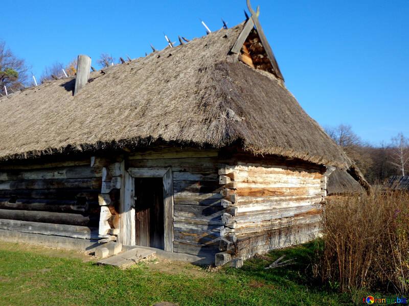 Holzhaus rahmen die alte holzhütte leben im freien № 28238