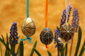 Painted Easter eggs №29801