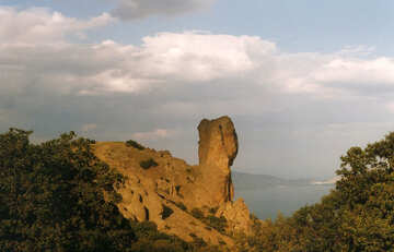 Thunderbolt mountain in Crimea №29176