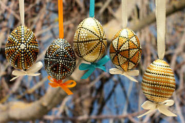 Easter eggs in the spring №29790