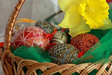 Easter yellow flower №29716