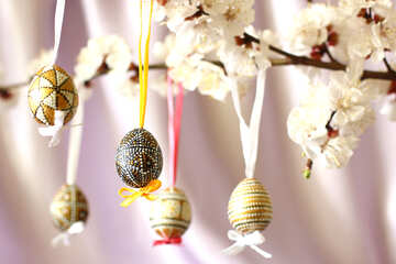 Easter tree ornaments №29819