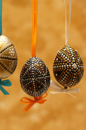 Background with Easter eggs №29799