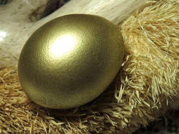 Goldenes Ei №29396