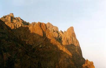 Montañas doradas №29212