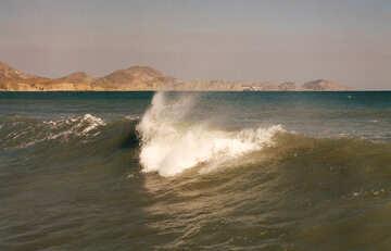 Salpicaduras de las olas №29243