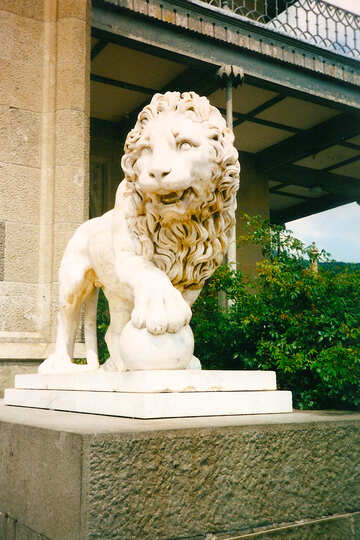 Sculpture of lion №29266