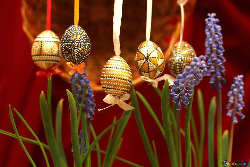 Flowers and Easter №29732