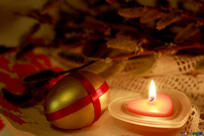 Easter candles №29535