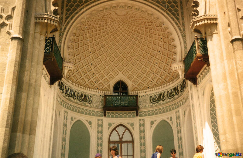 The interior of the palace.Roof. №29265