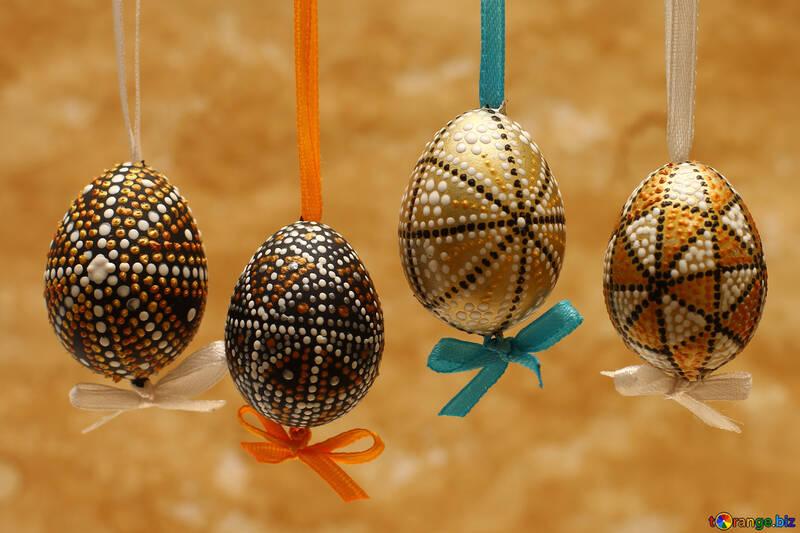 Fondo con huevos de Pascua №29796