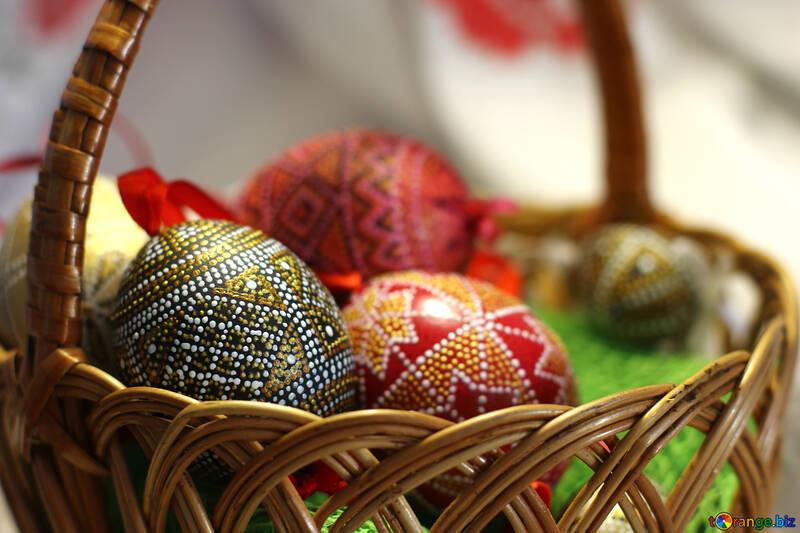 Modern Easter Eggs №29684