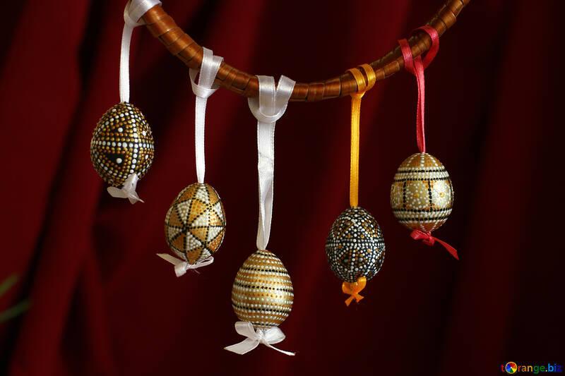 Eggs handmade №29741