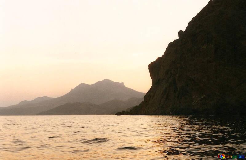 Puesta de sol del mar №29232