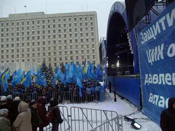 Scene for Yanukovych. Election 2010. №3543