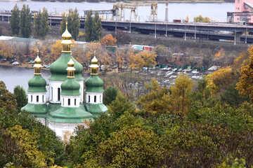 Vydubychi monastery. Kiev №3345