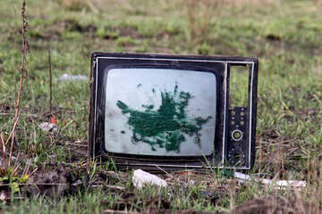Old TV №3495