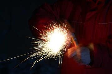 Christmas  Fire   hands
